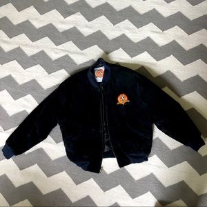 Looney Tunes Vintage embroidered bomber jacket